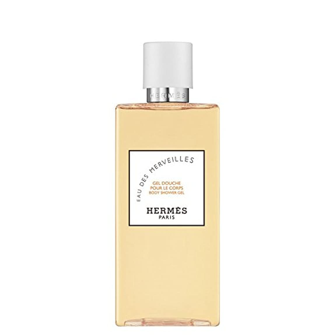 知覚する鯨ボトルエルメス Eau des Merveilles Body Shower Gel (New Packaging) 200ml