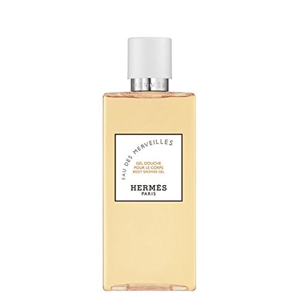 余剰代数検証エルメス Eau des Merveilles Body Shower Gel (New Packaging) 200ml