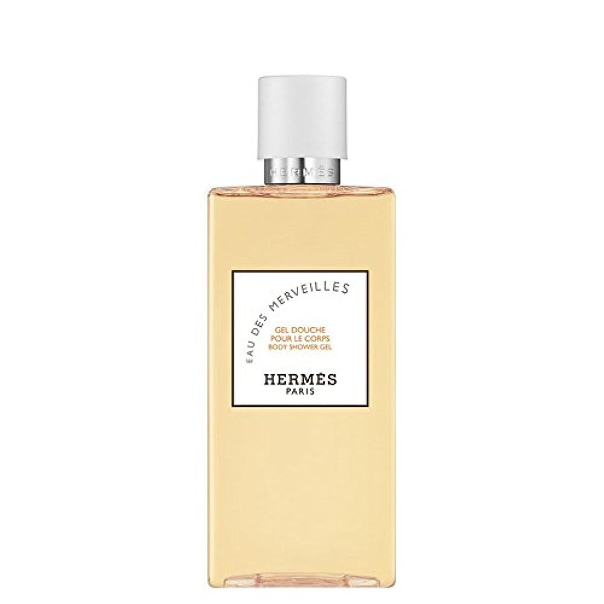あからさままっすぐタクシーエルメス Eau des Merveilles Body Shower Gel (New Packaging) 200ml