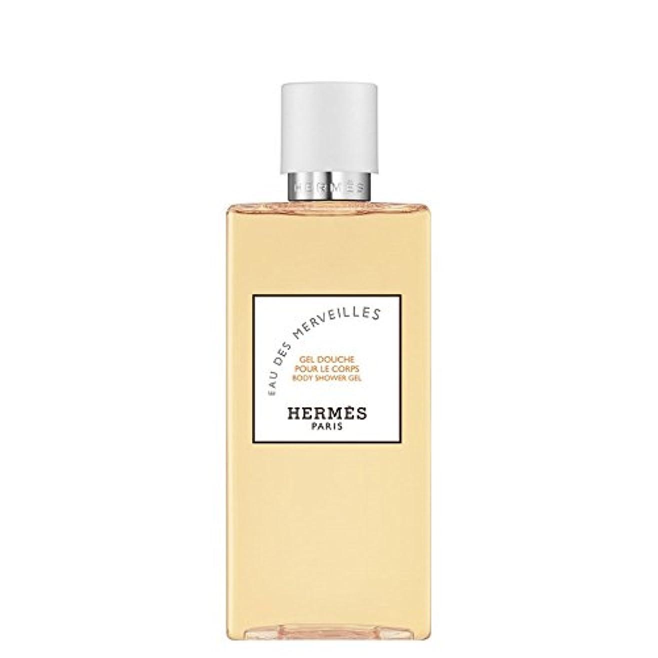 シーフードしてはいけないバケツエルメス Eau des Merveilles Body Shower Gel (New Packaging) 200ml