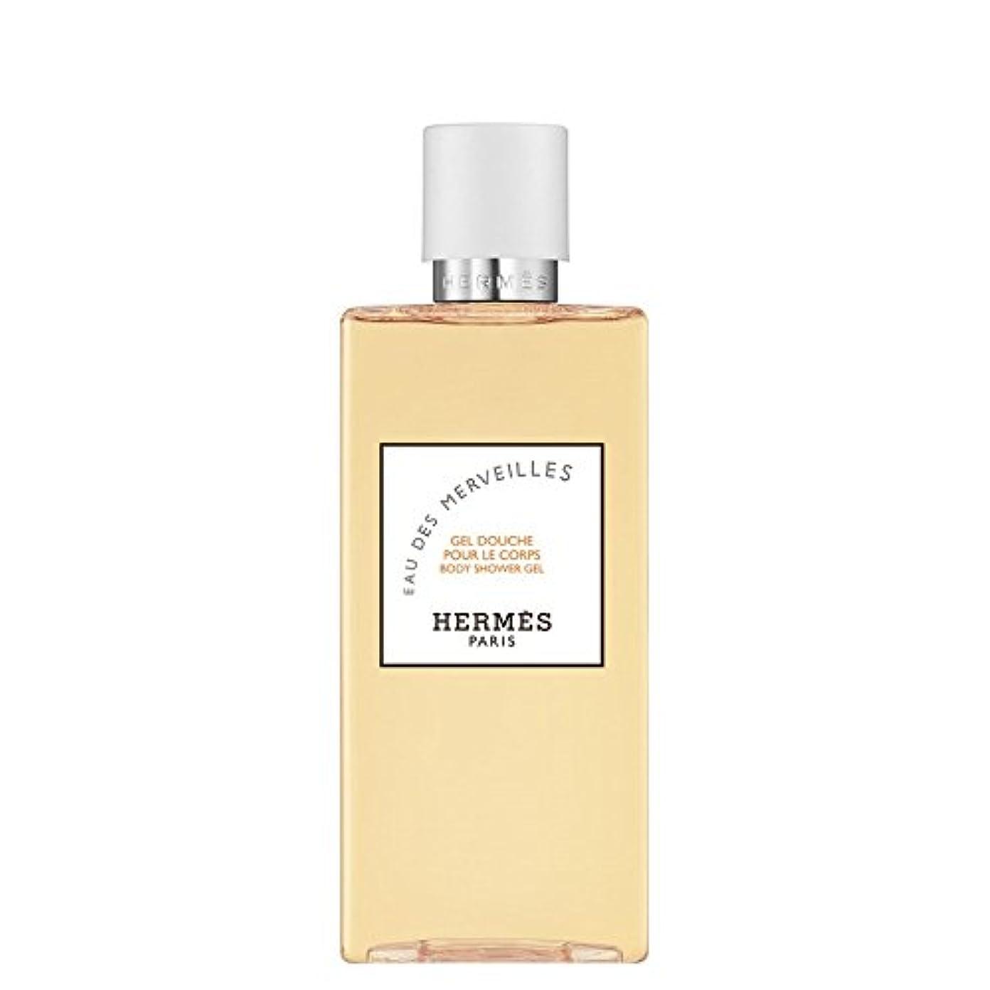 サイドボード示す好色なエルメス Eau des Merveilles Body Shower Gel (New Packaging) 200ml