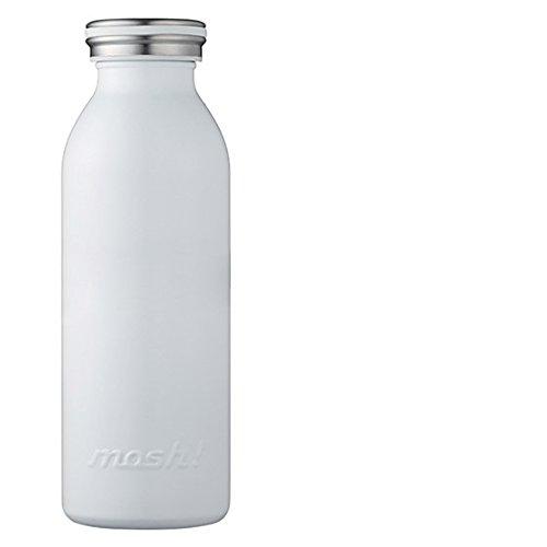 [モッシュ] mosh!ステンレスボトル 450ml ホワイト