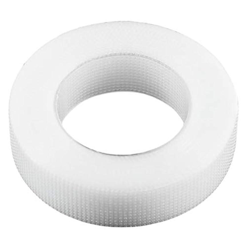 侵略契約する組み合わせIntercorey 1ロール1.25×9メートルプロホワイトまつげエクステンション不織布ラップテープセットアイケアキット用つけまつげ