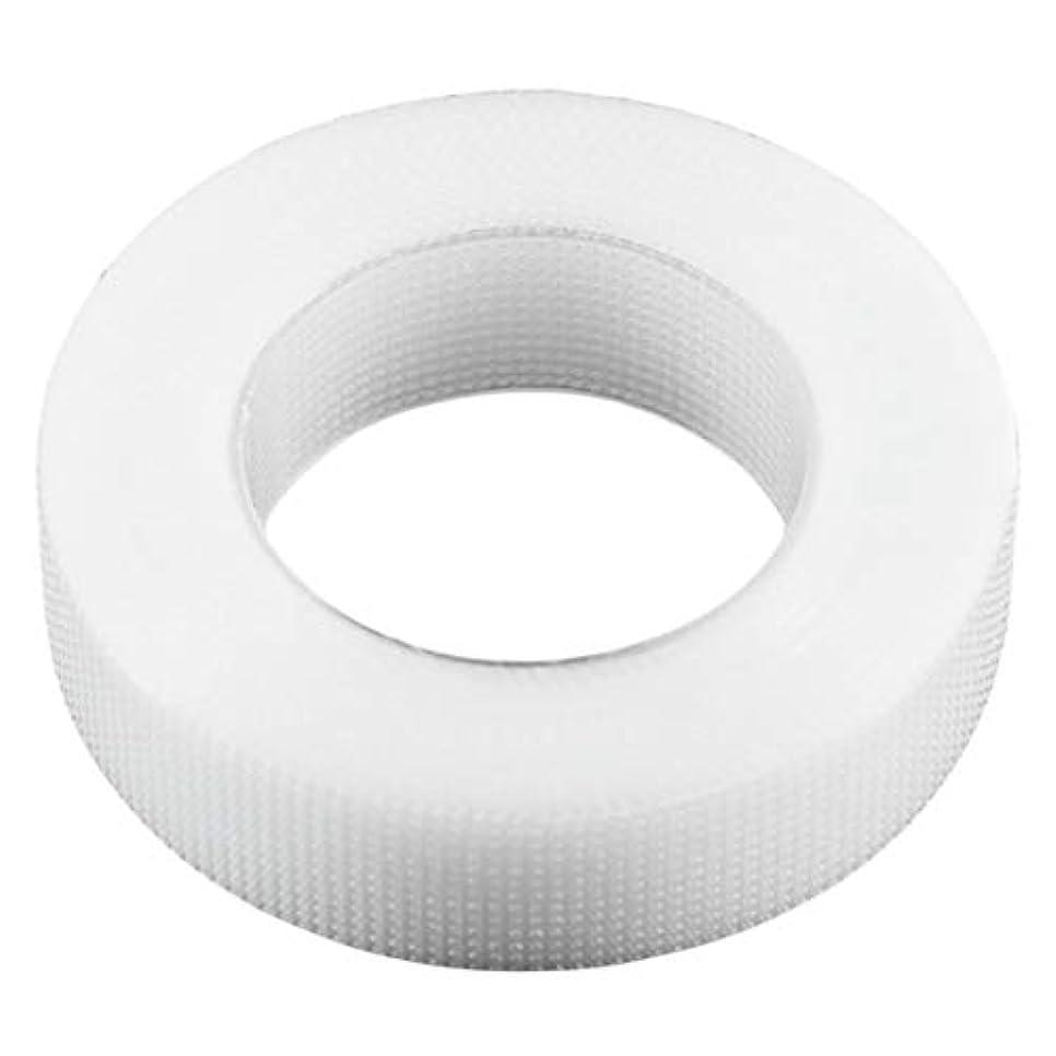 Intercorey 1ロール1.25×9メートルプロホワイトまつげエクステンション不織布ラップテープセットアイケアキット用つけまつげ