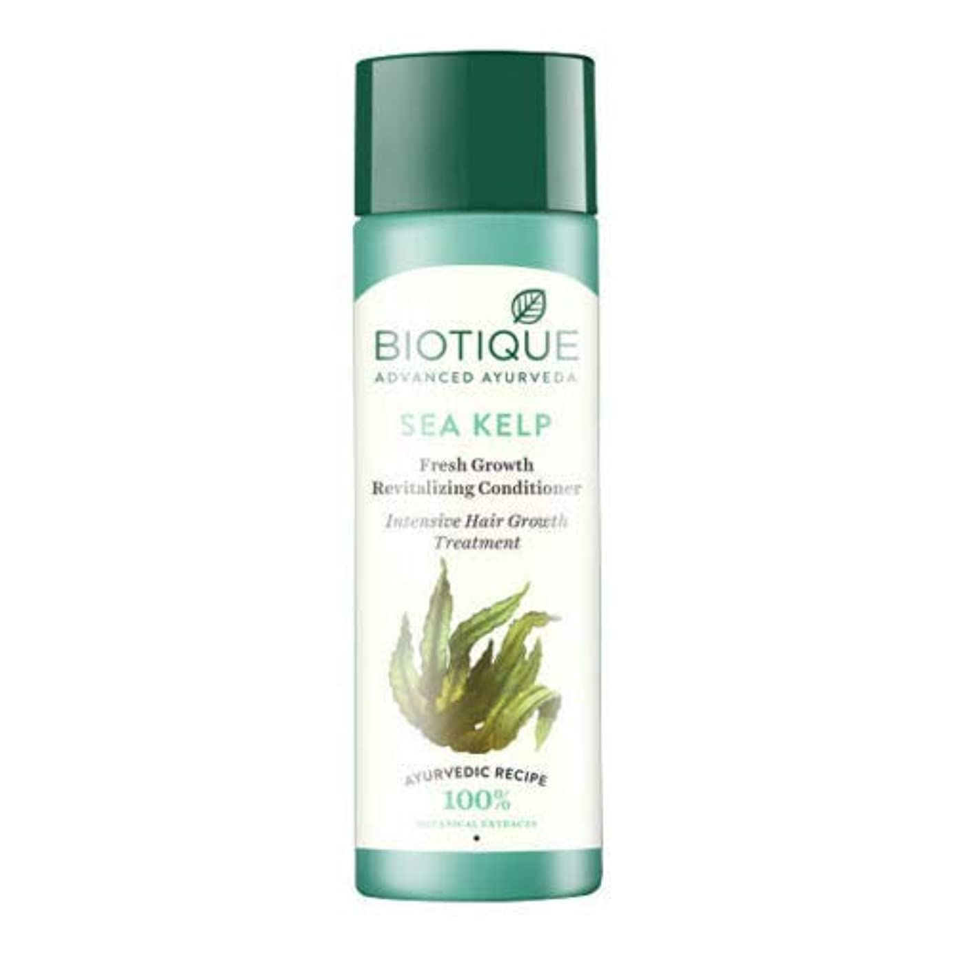 故意に比率気性Biotique Bio Sea Kelp Fresh Growth Revitalizing Conditioner (120 ml) hair Growth Biotiqueバイオシーケルプフレッシュグロースリジュライジングコンディショナー育毛