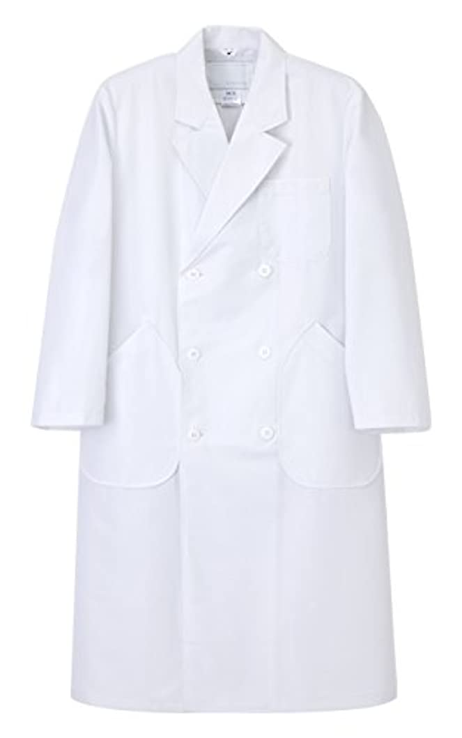 思春期外出お誕生日(ナガイレーベン) NAGAILEBEN 男子 ダブル 診察衣 長袖 ドクターウェア 白衣 HK-10
