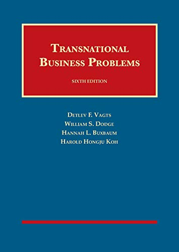 Download Transnational Business Problems (University Casebook Series) 1683286529