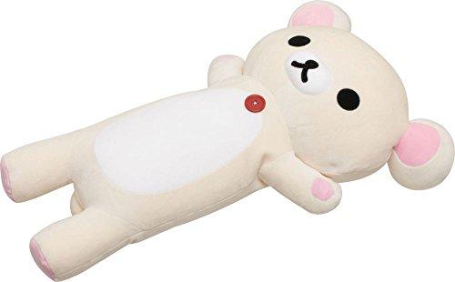 """[해외]""""이른바라며 매일 리락쿠마 `슈퍼 떡 안아 베개 리락쿠마/""""ROLLY LOOKKAMA ROLLY LOUKKAMA ROUTUKU"""" super mochi crisp pillow Rilakkuma"""