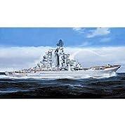 トランペッター 1/350 ロシア海軍キーロフ級巡洋艦 A・ウシャコフ プラモデル