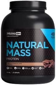 PranaOn Natural Mass - Mylk Chocolate 2.5kg, Mylk Chocolate 2.8 kilograms