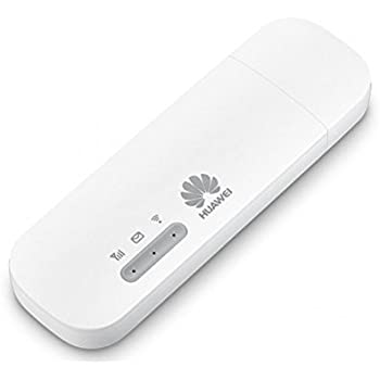 Modem USB Huawei E8372h-608 4G LTE + Wifi Dongle Unlocked GSM (LTE in AT&T Europe Asia Middle East and Africa) (White) [並行輸入品]