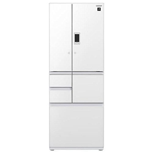 シャープ 502L 6ドア冷蔵庫(ピュアホワイト)SHARP プラズマクラスター冷蔵庫 SJ-GX50D-W