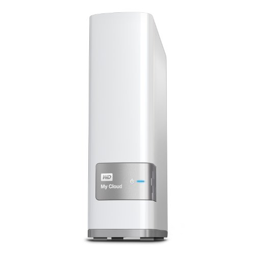 WD NAS 2TB WD Cloud WDBAGX0020HWT-JESN ホワイト / iPhone iPad Android スマホ 対応 / ファンレス / WD Red 搭載