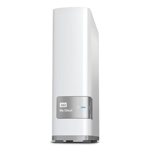 WD NAS 2TB WD Cloud WDBAGX0020HWT-JESN/ホワイト/スマホ対応/タイムマシン対応/ファンレス/iphone7対応