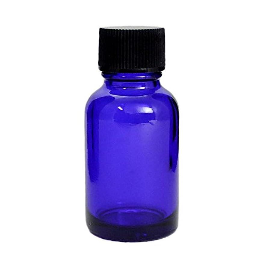 マンモスである立証する遮光瓶 ブルー 20CC SYA-B20CC (黒CAPのみ)