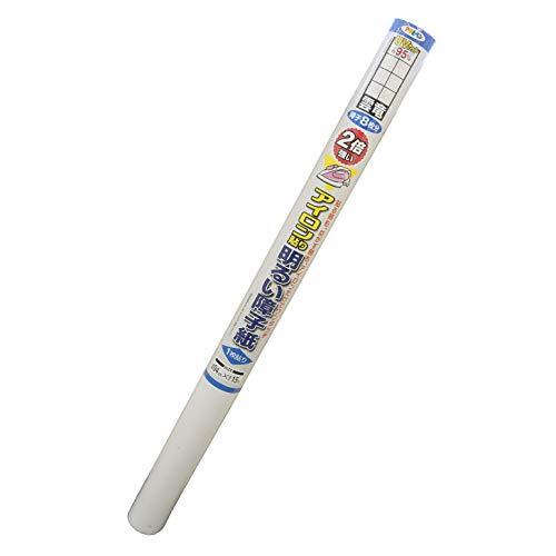 障子紙 2倍強い明るいアイロン貼り障子紙 UVカット約95% 6432 雲竜 94cm×15m 一枚貼り
