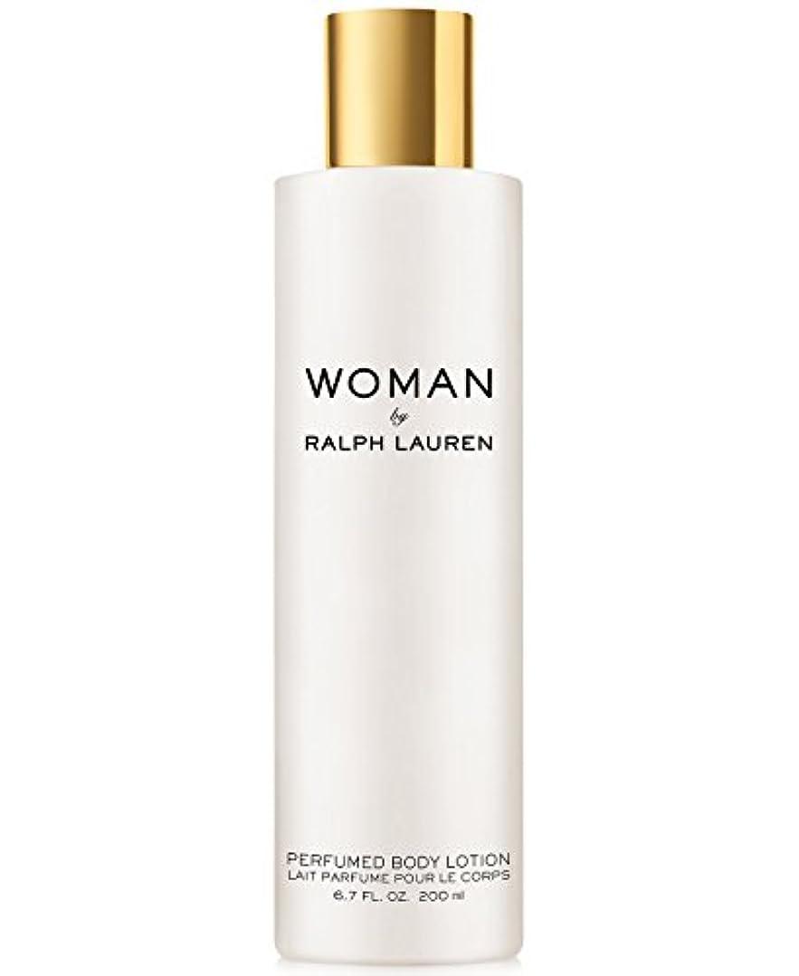 大ドラマ船尾Woman (ウーマン) 6.7 oz (200ml) Perfumed Body Lotion(ラルフ ローレン)