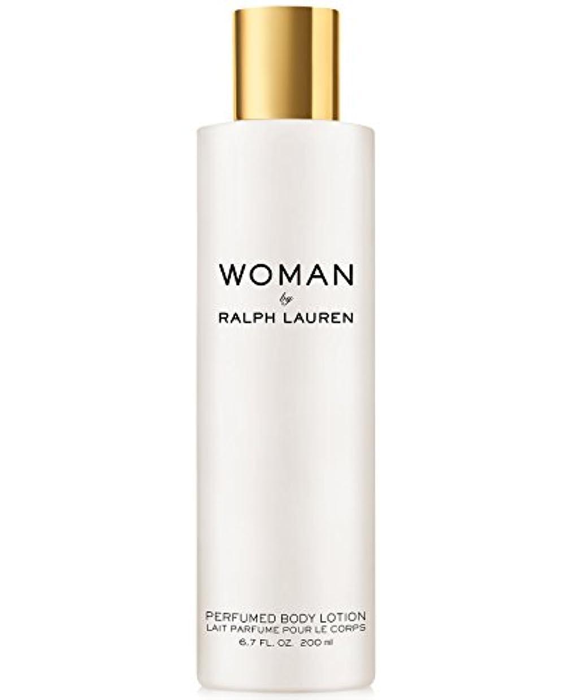 洞察力のある北方優雅なWoman (ウーマン) 6.7 oz (200ml) Perfumed Body Lotion(ラルフ ローレン)