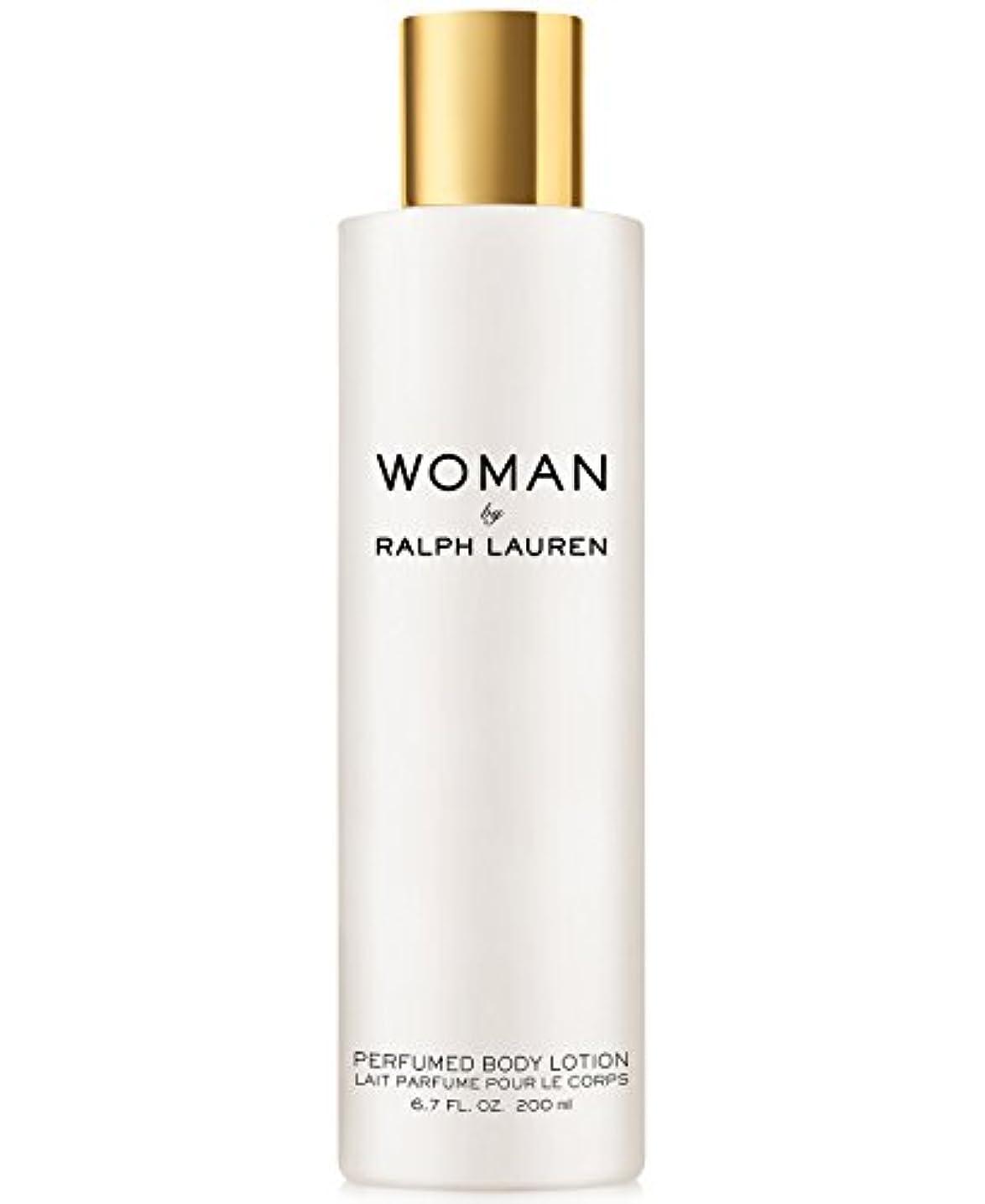 牧師鮮やかな事故Woman (ウーマン) 6.7 oz (200ml) Perfumed Body Lotion(ラルフ ローレン)