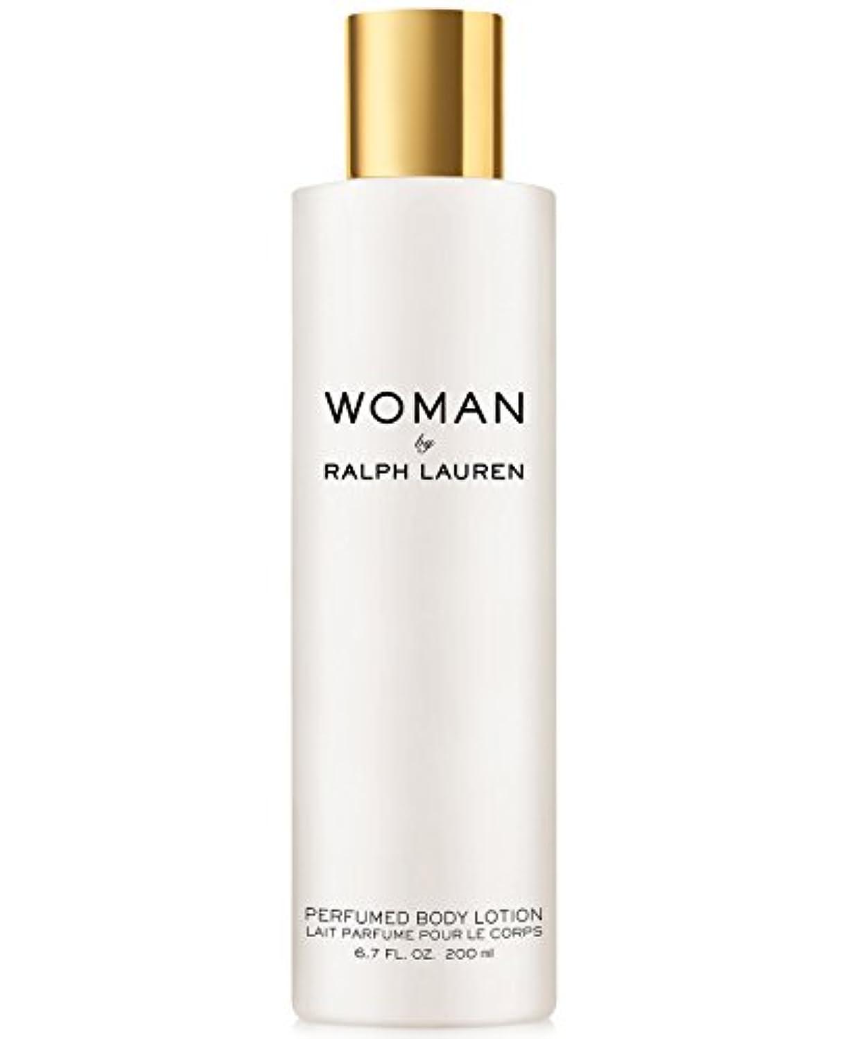 二層びっくりした一時停止Woman (ウーマン) 6.7 oz (200ml) Perfumed Body Lotion(ラルフ ローレン)