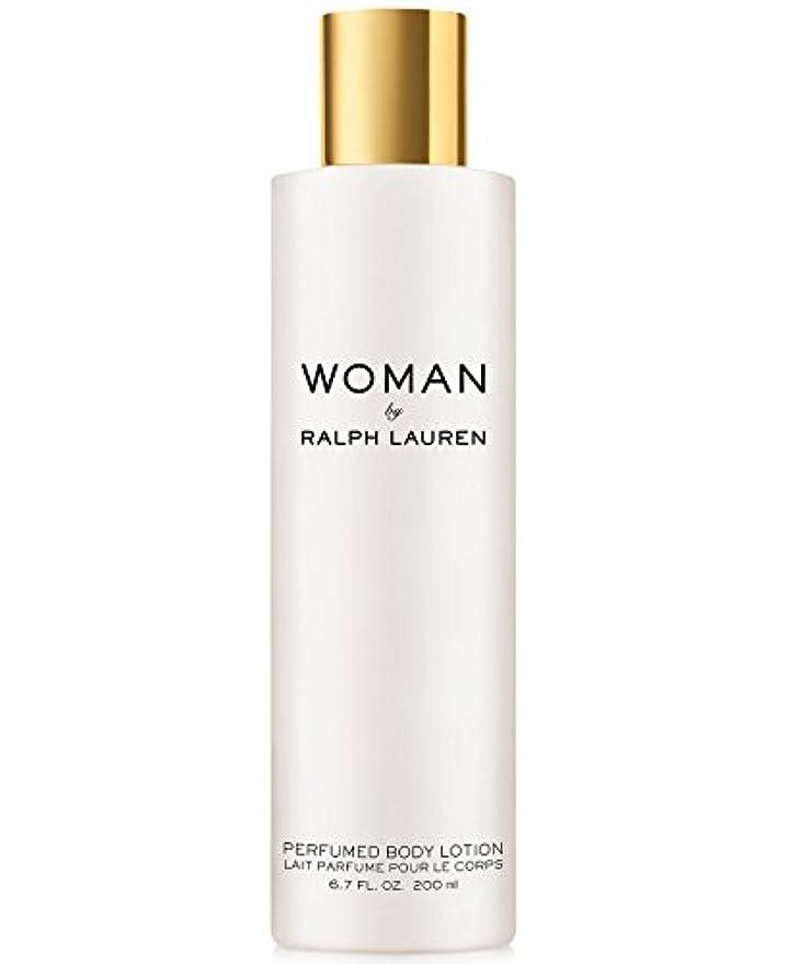 エゴイズム慣れている前部Woman (ウーマン) 6.7 oz (200ml) Perfumed Body Lotion(ラルフ ローレン)
