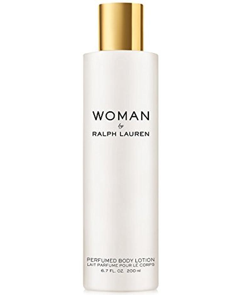 被るジャズ定刻Woman (ウーマン) 6.7 oz (200ml) Perfumed Body Lotion(ラルフ ローレン)