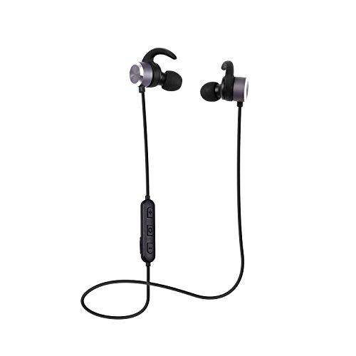 COLERAK ワイヤレス Bluetooth 4.1 ブルートゥース イヤホン スポーツ マグネット 両耳 Apple 会社の製品 バッテリー残量表示 音楽 長時間 小型 高音質 マイク おすすめ用 iphone7対応