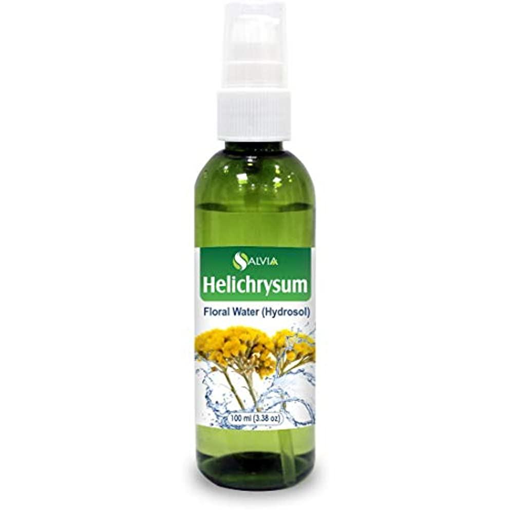 麻痺させる心配眉Helichrysum Floral Water 100ml (Hydrosol) 100% Pure And Natural