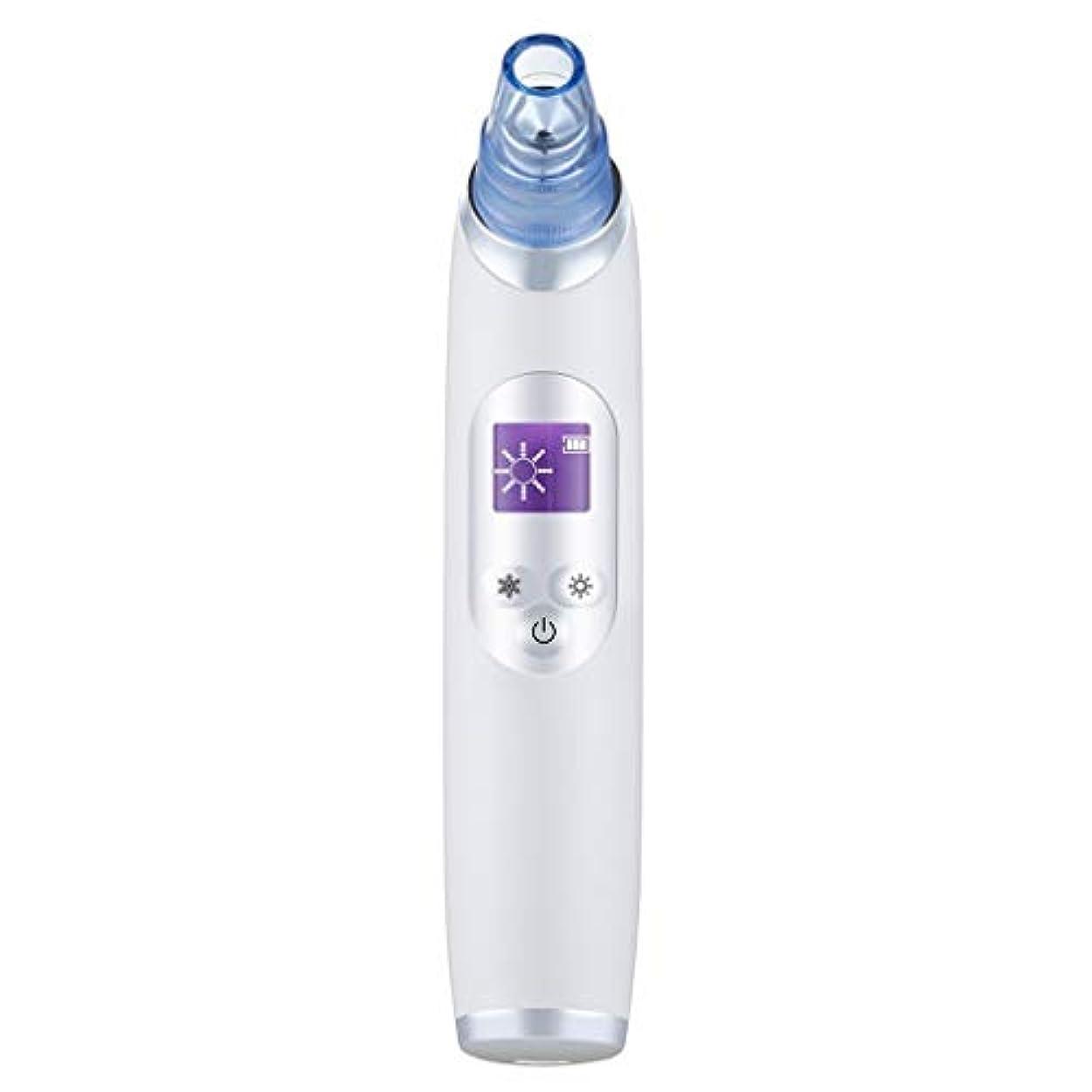 病気ボルトレクリエーション真空気孔クリーナー、ポータブル電気冷却と加熱技術引き締めと輝く角質にきびにきびギフト用女性 (Color : B)