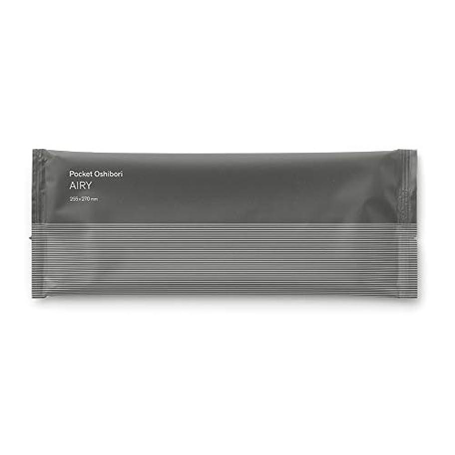 消費できない理想的FSX スパンレース紙おしぼり AIRY GRAY 1パック 100本 大判 厚手 業務用