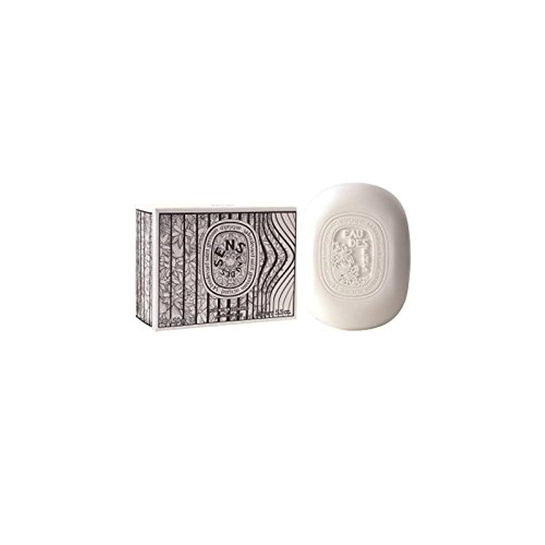 インサートためらう小数Diptyque Eau Des Sens Soap 150g (Pack of 6) - Diptyqueのオーデは石鹸の150グラムをSens (x6) [並行輸入品]