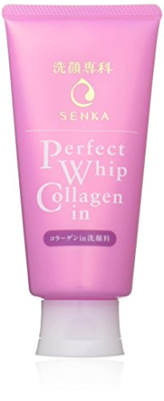 寄生虫すすり泣き生息地洗顔専科 パーフェクトホイップ コラーゲンin 洗顔フォーム 120g