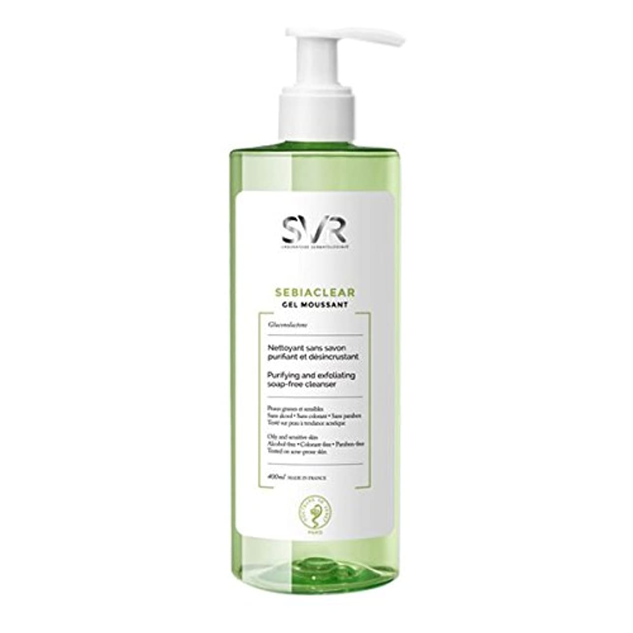宴会重要な連合Svr Sebiaclear Purifying And Exfoliating Cleanser 400ml [並行輸入品]
