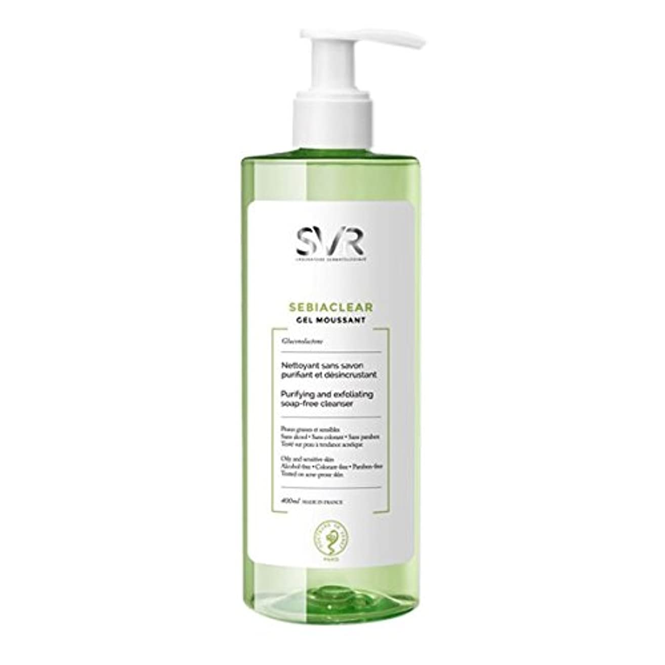 Svr Sebiaclear Purifying And Exfoliating Cleanser 400ml [並行輸入品]