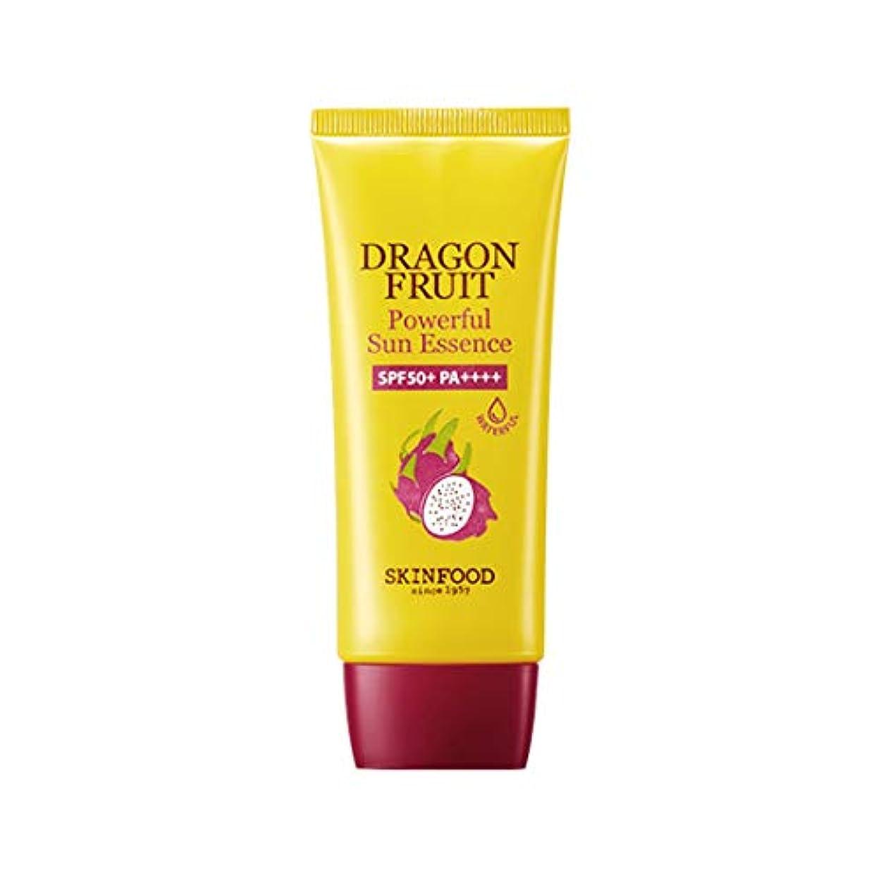 発言する満員道に迷いましたSkinfood ドラゴンフルーツパワフルサンエッセンスSPF50 + PA +++ / Dragon Fruit Powerful Sun Essence SPF50+ PA+++ 50ml [並行輸入品]