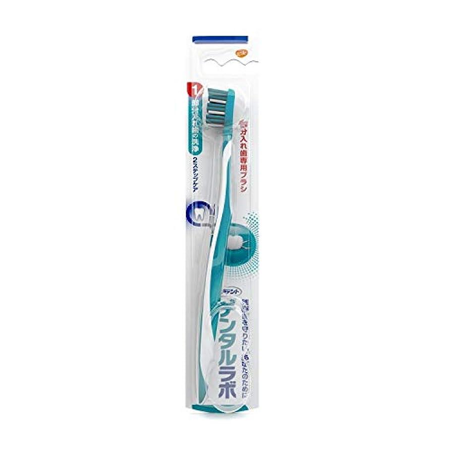 期待して申請者理論的デンタルラボ 部分入れ歯専用ブラシ (色はお選びいただけません)