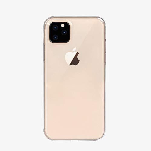 iPhone XI ケースクリア ALLFUN アイフォンXI カバー スリム 衝撃吸収/キズ防止/ソフトTPU素材 iPhone XI 用バンパー