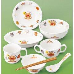 金正陶器 子供用食器 それいけアンパンマン キッズ食器 8点セット 074753