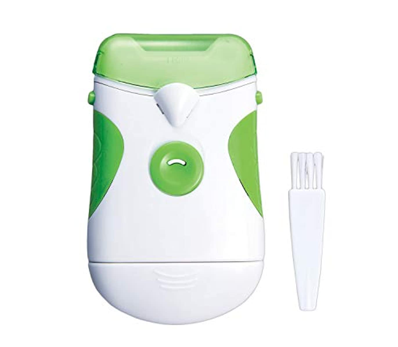 内側クライマックスレンダー電動爪やすり(ライト付) つめやすり 電池式 コードレス 足の爪 老眼 ネイルケア 水洗い可 単三乾電池