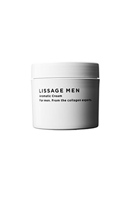 エコー吸い込む再現するリサージ メン アロマティッククリーム 200g 男性用 ボディクリーム  (メンズ スキンケア)