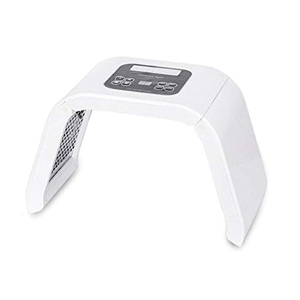 操作幾分盆LED美顔器 シワ 業務用 家庭用 7色 10パターン たるみ ほうれい線 美肌 ニキビ対策 コラーゲン生成 美白 エイジングケア