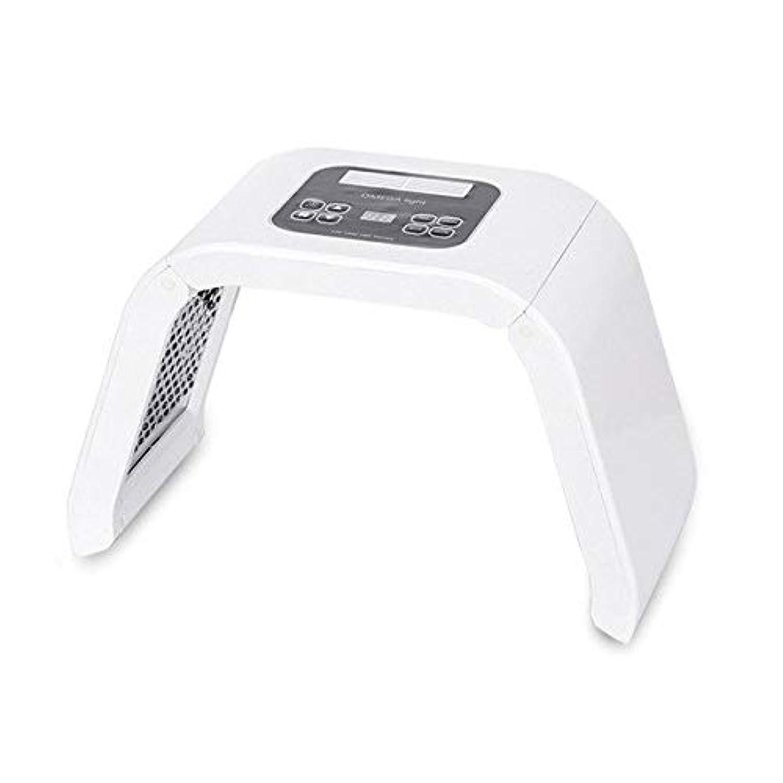 宙返り刈る対話LED美顔器 シワ 業務用 家庭用 7色 10パターン たるみ ほうれい線 美肌 ニキビ対策 コラーゲン生成 美白 エイジングケア