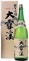 大雪渓 純米吟醸酒 [ 日本酒 長野県 1800ml ] [ギフトBox入り]