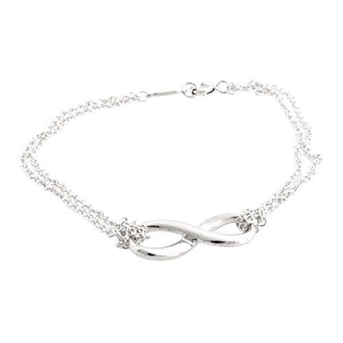 [해외][티파니] TIFFANY 스털링 실버 인피니티 팔찌 미디엄 17cm 병행 수입품 30036298/[Tiffany] TIFFANY Sterling Silver Infinity Bracelet Medium 17cm Parallel import goods 30036298