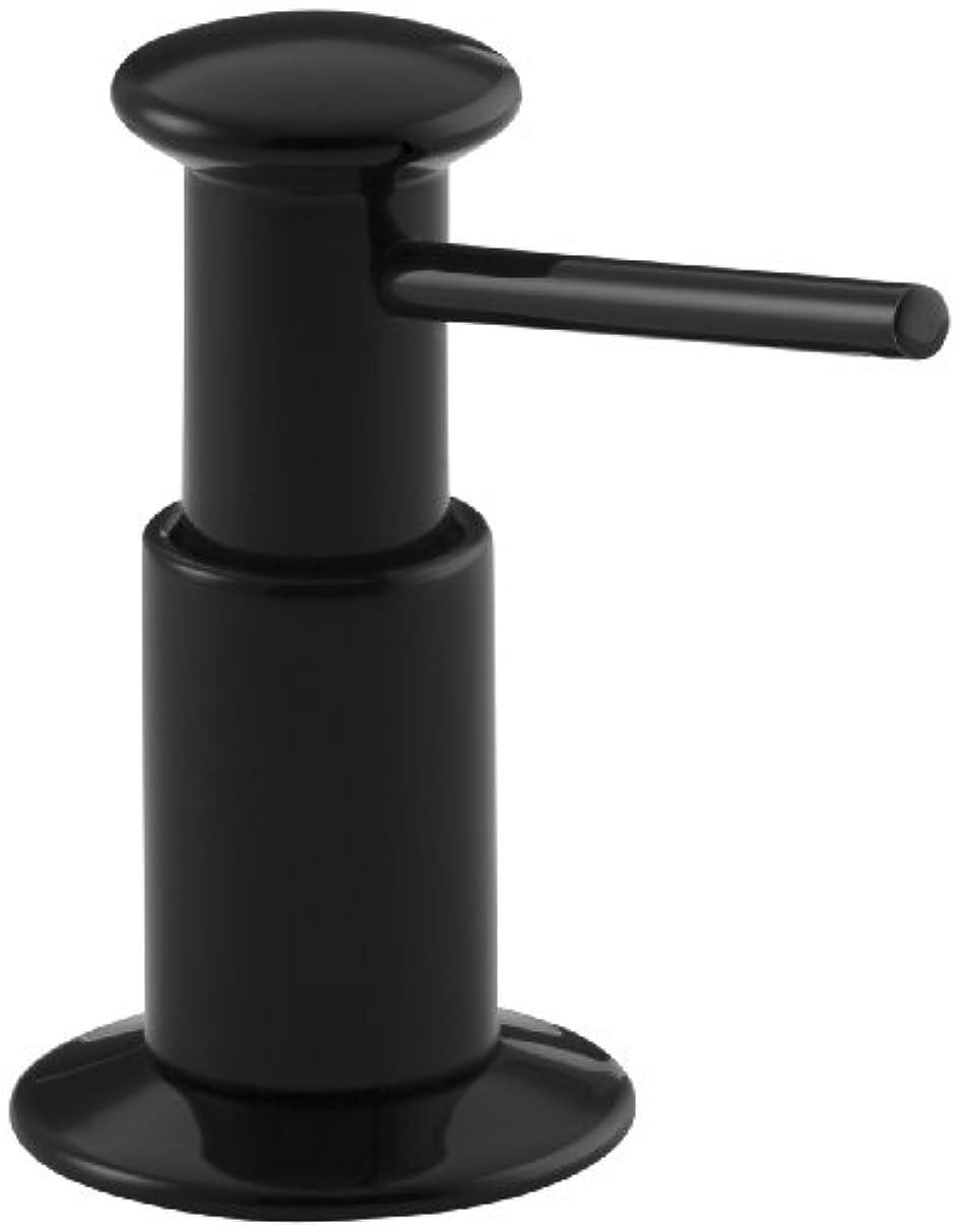 おかしい事業内容黒Kohler石鹸/ローションディスペンサー K-9619-7 1
