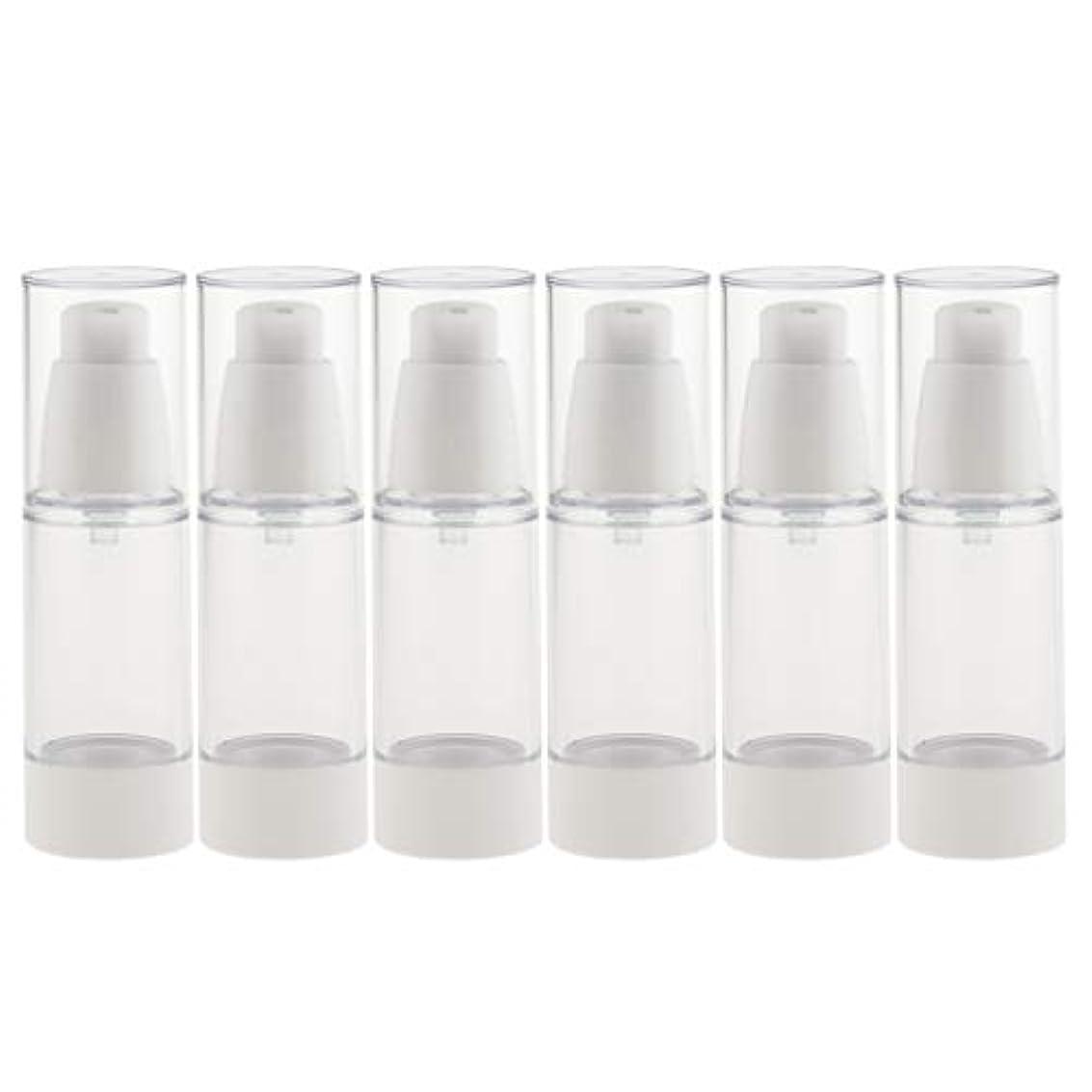 従者化合物妥協6個 真空スプレーボトル ミストボトル 真空ボトル コスメ 詰替え容器 旅行小物 便利 2サイズ選べ - 30ミリリットル