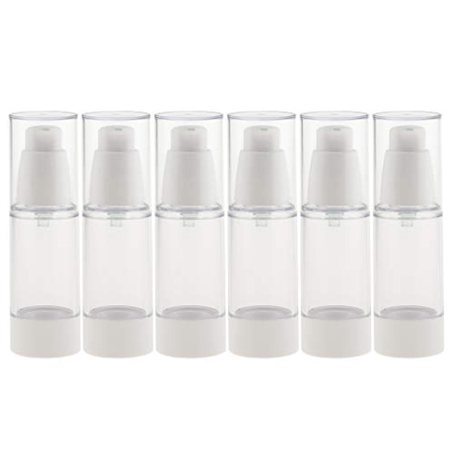 破壊的な選択環境に優しい6個 真空スプレーボトル ミストボトル 真空ボトル コスメ 化粧品 2サイズ選べ - 30ミリリットル