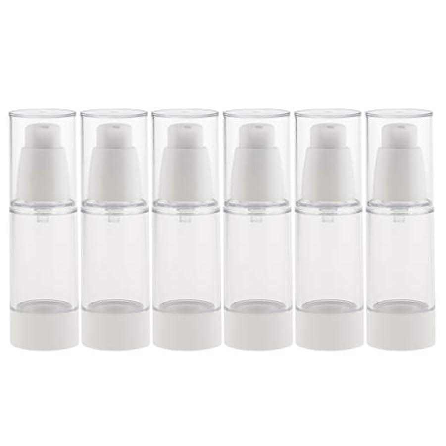 脱臼するクロス民主主義6個 真空スプレーボトル ミストボトル 真空ボトル コスメ 詰替え容器 旅行小物 便利 2サイズ選べ - 30ミリリットル