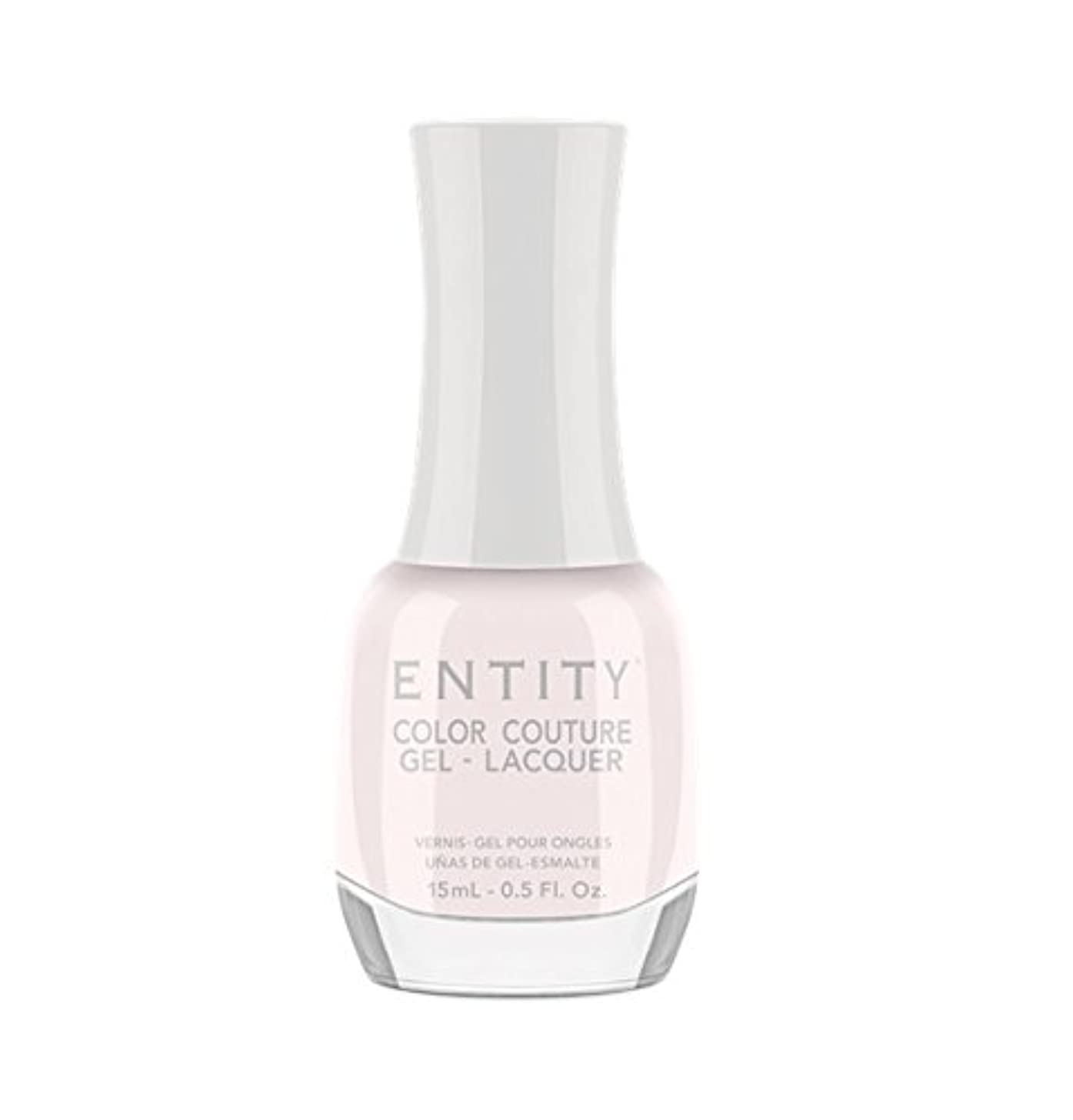 オーバードロー責める汚染されたEntity Color Couture Gel-Lacquer - Sheer Perfection - 15 ml/0.5 oz