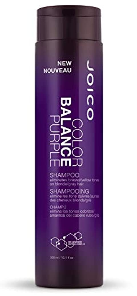 端末男らしい毒ジョイコ Color Balance Purple Shampoo (Eliminates Brassy/Yellow Tones on Blonde/Gray Hair) 300ml/10.1oz並行輸入品